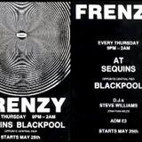 DJ Steve Williams & Laurent Garnier - FRENZY 8, Sequins Blackpool 20th July 1989