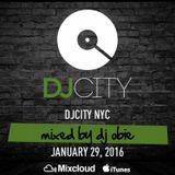 DJ OBie - DJ City Friday Fix 1.29.16