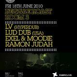 REGGAE ROAST LIVE MIX FOR FABIC ROOM 3 - JUNE 2010