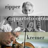 Set 55 - Quartetto Cetra. Joao Guilherme Ripper. Andre Ribeiro. Gidon Kremer