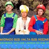 Valta b2b Noizar b2b Animado – KIEVBASS Outlook Launch @ SUB.fm (14.03.2012)