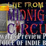 """LIVE from the Midnight Circus """"Independent Blues Award Preview"""" Part 1"""
