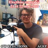 ELECTIONS CENTRALES - AGEP /Interview de Kévin Moison/ par Elyes, Marie et Nicolas