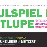 Dr. Lutz Neitzert - Das Braune Leder. Fußball im Fokus der Rechtsextremen (08. Oktober 2015)