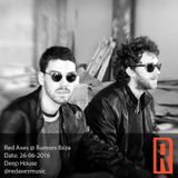 Red Axes @ Rumors Ibiza 26-06-2016
