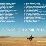 SONGS FOR APRIL 2016