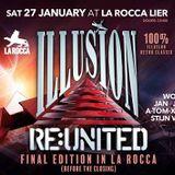 dj Jean @ Illusion RE:UNITED - La Rocca