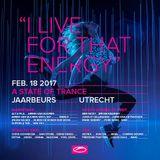 Armin van Buuren (Vinyl Set) Live @ A State Of Trance 800, Utrecht, Mainstage 18-02-2017