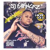 "DJ FATFINGAZ ""LIVE ON HOT 97"" JUNE 30TH, 2018 #SUMMERMIXWEEKEND (NO COMMERCIALS!)"