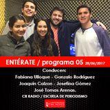 ENTÉRATE / programa 05