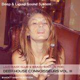 Deep House Connoisseurs Volume III