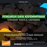 [Sesi 1] Pengaruh Gaya Kepemimpinan Terhadap Kinerja Karyawan