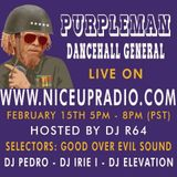 Nice Up Radio feat Purpleman with Good Over Evil Sound ls Jah Army Sound 15.2.2018