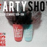 #ArtyShow, la première fois - Radio Campus Avignon - 23/12/2013