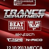 N-Rico - Live@Trance Department ( Coldharbour ) 12-10-2013