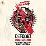 Partyraiser @ Defqon.1 Festival Australia 2015