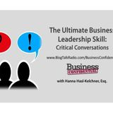 The Ultimate Business Leadership Skill: Critical Conversations