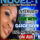 Novel-T Interview With DJJoeDan Live On LiberatedRadio 4/26/14 #VUS
