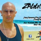 ▶ ZAGGIA ◀ DEEP HOUSE LIVE MIX JULY SUMMER 2015 - Compilation Mixtape FREE DOWNLOAD