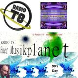 PLANET OF VERSIONS @ 90's Day On Radio T8 - 06.07.2014 (Part 1)