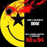 (DJ Faydz Album Mix) Billy 'Daniel' Bunter & Sanxion - 88-94