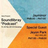 Soundlibrary Podcast Mixed By Jeyon Park