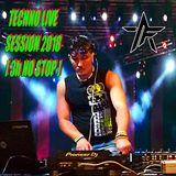 TECHNO LIVE SESSION 2018 [3h NO STOP]