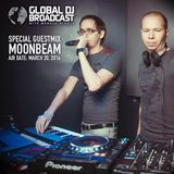 Moonbeam Guest Mix @ Global DJ Broadcast by Markus Schulz (20.03.2014)
