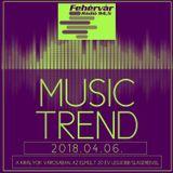 Mr. Tom - Music Trend (2018.04.06.) - Live @ Fehervar Radio