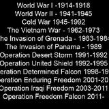 US wars the last 100 years (07_11_2016)