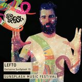 DJ LEFTO - 10 TRACK Mix for SunSplash