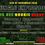 JUNGLE EXPLOSION STUDIO MIX - DJ BUBBLER