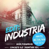 Concrete DJ'z (Bojan Vukmirović b2b Davor Petrović) @ EDIT INDUSTRIA 30.03.2013