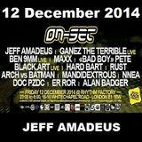 ON-SET London 12/12/14 Promo Mix - JEFF AMADEUS