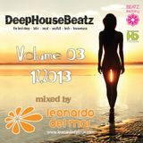 DeepHouseBeatz Volume 03 ( 12.2013 ) by Leonardo del Mar