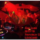 Xcire 16.07.16 Red Cube @ Sala Republik (Madrid)