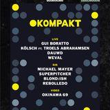 Gui Boratto (Live)  -  Live At DGTL Presents Kompakt, Scheepsbouwloods (ADE 2014 Amsterdam)  - 18-
