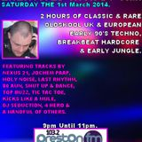 Energised With DJ Tim - 1/3/14 - 103.2 Preston fm