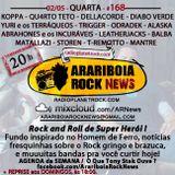 # 168 Arariboia Rock News - 02.05.2018 - Rock de Super Herói