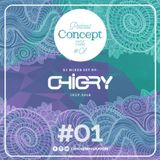Concept Music Room Podcast #01 - Chigry (Jul.2018)