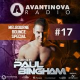 AVANTINOVA RADIO #17 - MELBOURNE BOUNCE SPECIAL