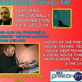 Energised With DJ Tim - 103.2 Preston fm