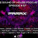 Parax- The Sound Of House Podcast Episode # 57