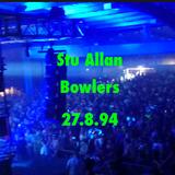 Stu Allen @Bowlers 27.08.94