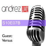 Andrez LIVE! S10E07B On 19.10.2016 GUEST MIX & INTERVIEW: VERSUS