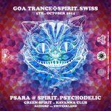 Psara @ Spirit of Psychodelic in Swiss, Oct. 4th, 2014