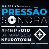 Pressão Sonora - 31-03-2018