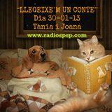 """""""LLEGEIXE'M UN CONTE"""" 30-01-13 Tània i Joana"""