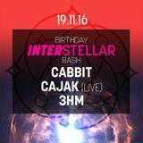 @ INTERSTELLAR'S BIRTHDAY BASH
