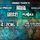 FUGAZ - Live @ Absolut Trance [Trance Classics Set], The Club Granatina, Prague (02-04-2016)